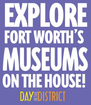 Day in the Cultural District Fort Worth logo