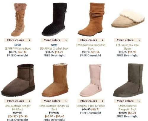 Endless Shearling Boots