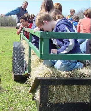 Fort Worth Nature Center Hay Ride