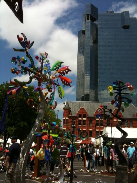 Frugal Fun Ft Worth Weekend Events April 15 17 Edition Main Street Arts Fest The Blue