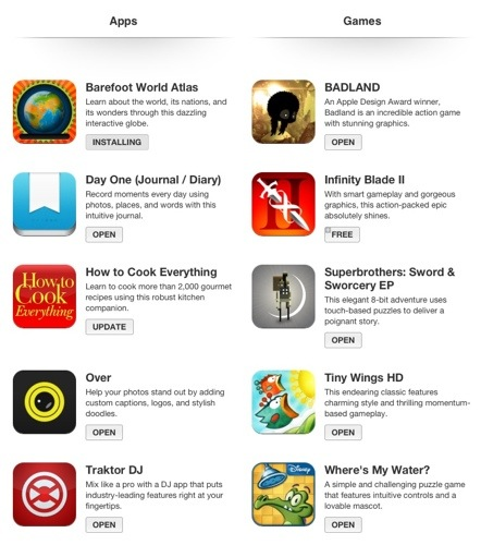 10 free Ipad Iphone Apps from Itunes