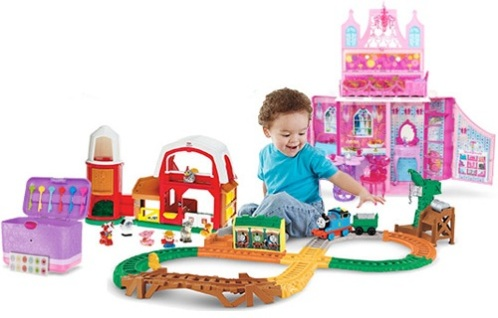 50% Off Barbie, Fisher Price, Thomas the Train