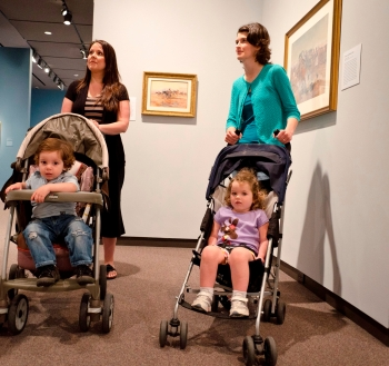 New Parents Tour, Amon Carter Museum of American Art, March 30, 2012.