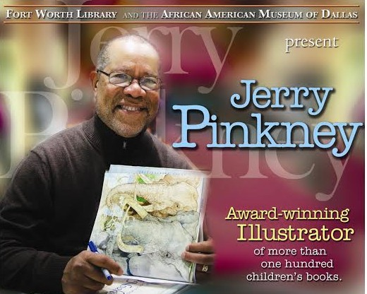 Fort Worth Library Jerry Pinkney Signing