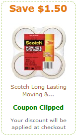 Amazon Packing Tape Coupon 2
