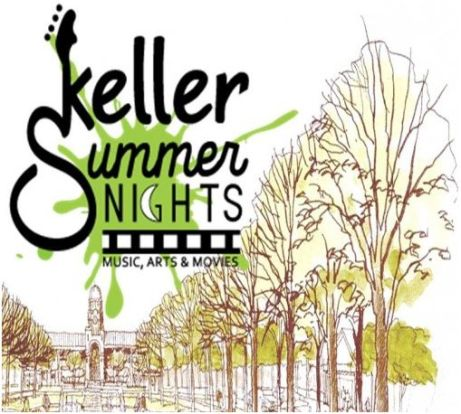 Keller Summer Nights Logo