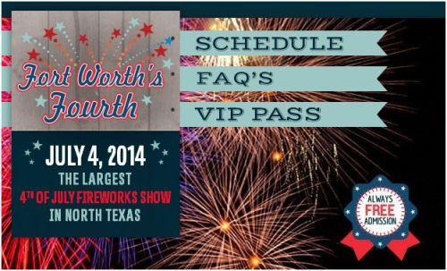 Fort Worth Fourth Fireworks
