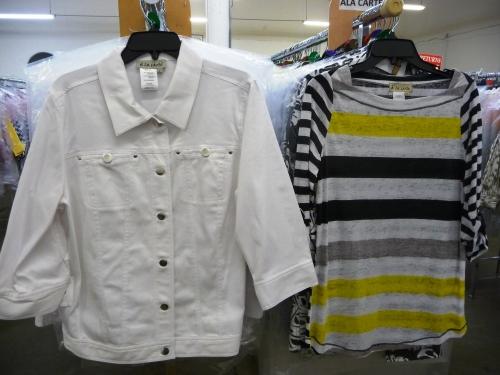 Sharon Young Sale - A la Carte White Jacket
