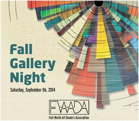 Fall Gallery Night 2014 Fort Worth