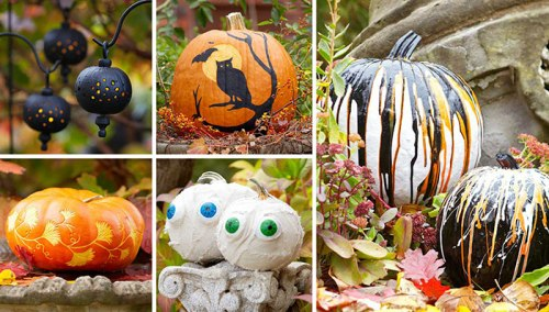 200 Pumpkin carving ideas