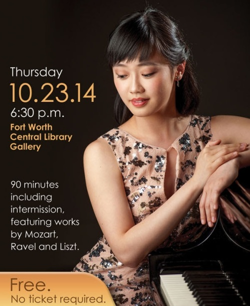 Cliburn Finalist Concert in Fort Worth b