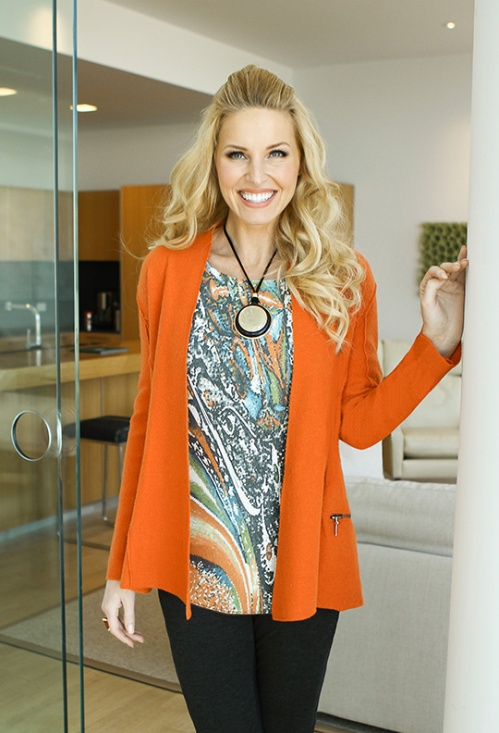 Sharon Young orange jacket nov 2014