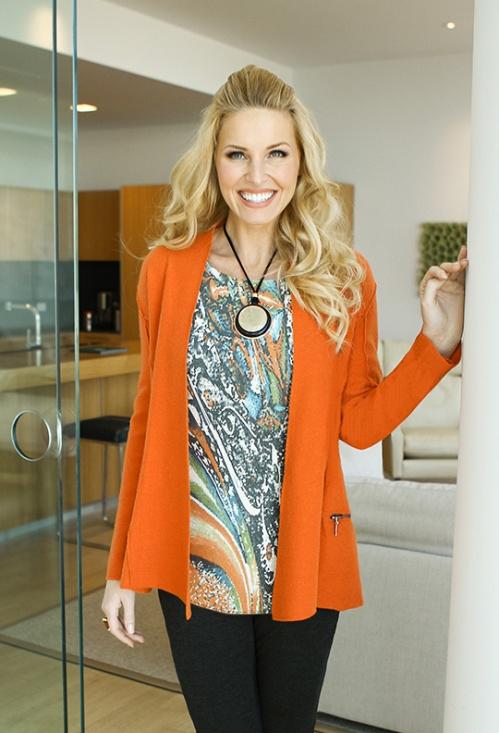 Sharon Young orange jacket nov 2014