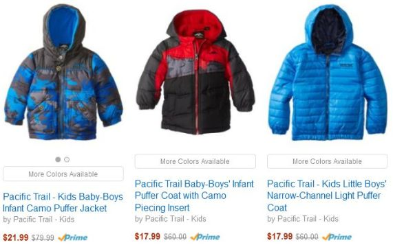 Amazon Coat Sale boys