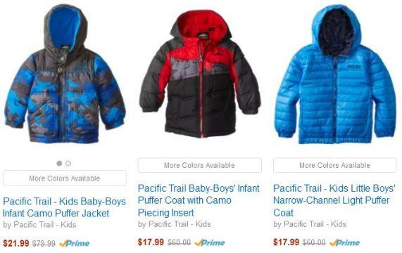 Amazon Coat Sale boys