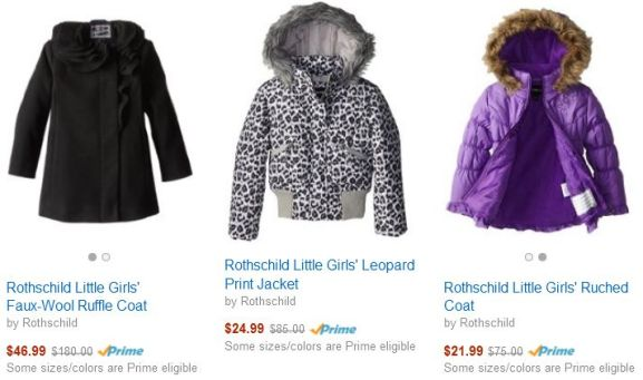 TODAY ONLY: 70% Off Select Winter Coats For Women, Men