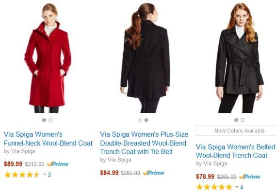 Amazon Coat Sale Women