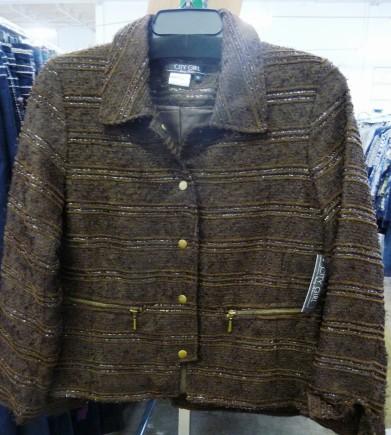 Sharon Young brown jacket nov 2014