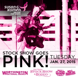 Fort Worth Stock Show and Rodeo Goes Pink