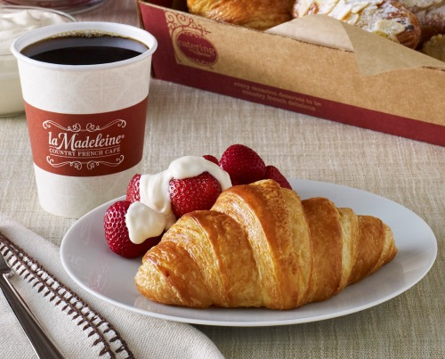 La Madeleine free croissant