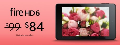 Kindle Fire 6 Valentines Day