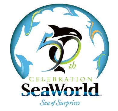 SeaWorld 50th Anniversary Logo
