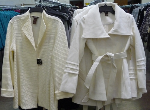 Sharon Young Winter White Jackets 2