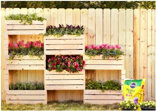 Home Depot Vertical Garden