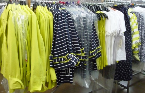 Sharon Young Warehouse Sale May 2015 green Navy  collection