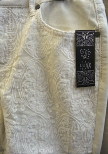 Sharon Young Warehouse Sale May 2015 Tru luxe lace overlay c