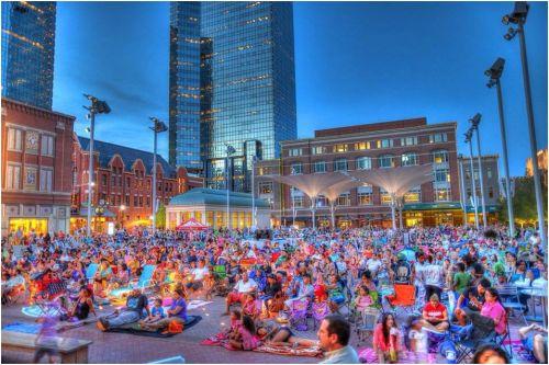 Sundance Square Plaza Wednesday movies