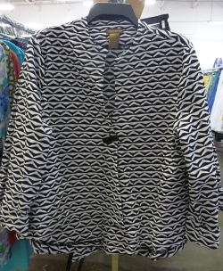 Sharon Young Warehouse Sale July 2015 Black & White Jacket