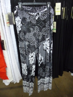 Sharon Young Warehouse Sale July 2015 Black & White Pallazzo Pants