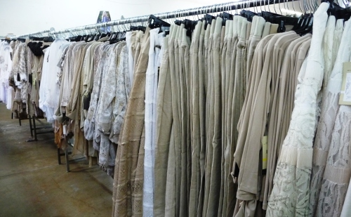 Sharon Young Warehouse Sale July 2015 Neutral Linen and Lace