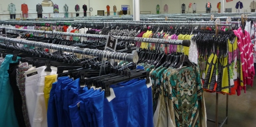 Sharon Young & Ladies Designer Brand Warehouse Sale July 2015 -- Rows of Bargains