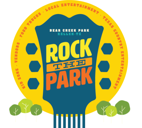 Keller Rock the Park logo