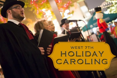 West 7th Fort Worth Holiday Caroling